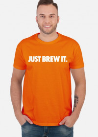 Koszulka męska Just Brew It