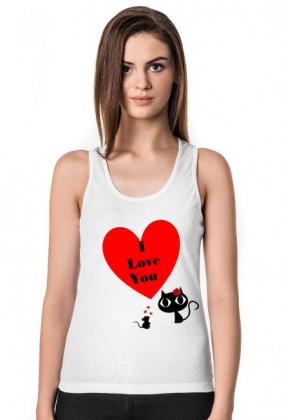 kot mysz i love you