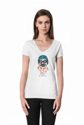 Koszulka damska V-nec