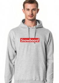 Snowboard Bluza z kapturem męska (Różne kolory!)