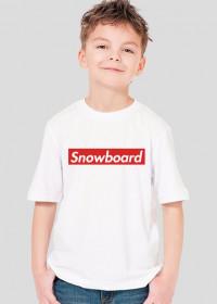 Snowboard Tshirt dla chłopca (Różne kolory!)
