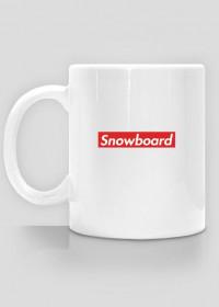 Snowboard kubek