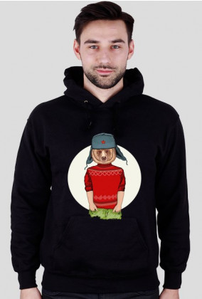 Bluza Męska Miś Hipster