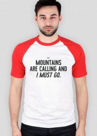 Mountains Are Calling - koszulka baseball (Różne kolory!)