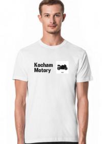 koszulka kocham motory