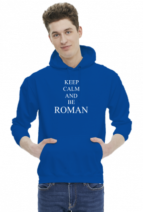 KEEP CALM AND BE ROMAN
