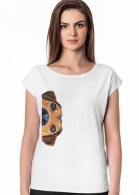 Koszulka damska - Pies