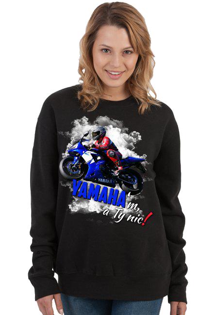 YAMAHA'm, a Ty nic! - Damska bluza motocyklowa