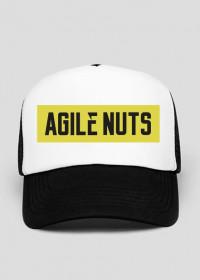 Agile Nuts logo trucker hat