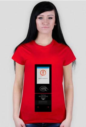 Koszulka nowy kasownik damska