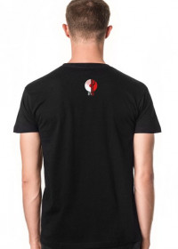 black (T-shirt Slim STANDIP)