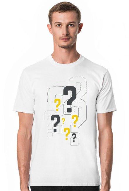 Koszulka znaki zpytania