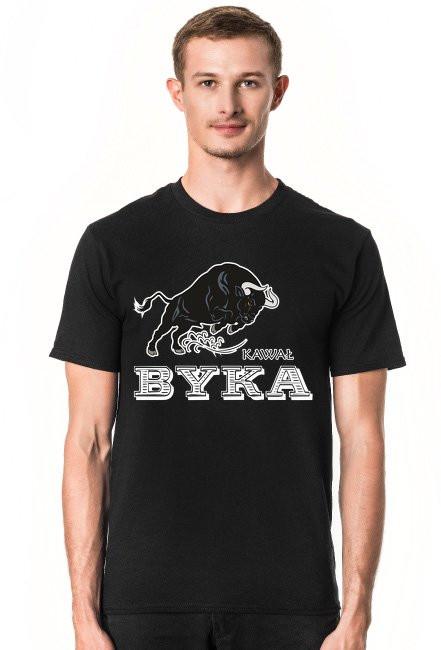 Koszulka kawał byka czarna