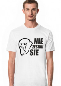 Koszulka Nie Zesraj się