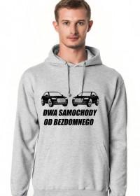 Bluza samochody od bezdomnego
