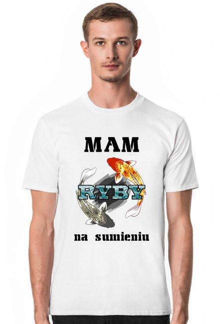 Koszulka Mam ryby na sumieniu