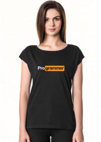 Koszulka damska specjalnie na prezent dla informatyka programisty na urodziny, pod choinkę, na mikołajki