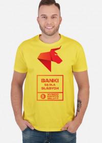 BANKI SĄ DLA SŁABYCH - NDS Wybierz kryptowaluty! Koszulka męska