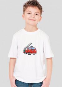 Koszulka Chłopięca Wóz Strażacki