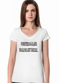 """Koszulka Damska """"Powietrze na Śląsku..."""""""