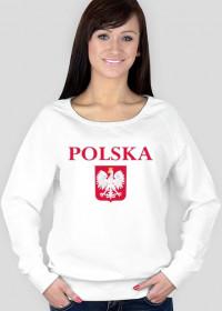 Bluza POLSKA biała damska vp