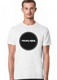 Biały T-shirt Duże