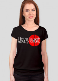 black (T-shirt Damska LOVE01)