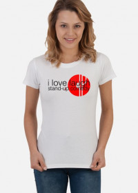 white (t-shirt Damska LOVE01)