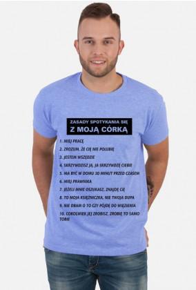Koszulka Zasady spotykania się z moją córką