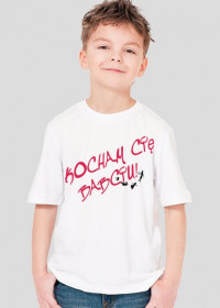 Koszulka chłopięca Kocham Cię Babciu
