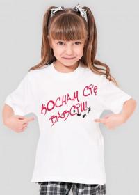 Koszulka dziewczęca Kocham Cię Babciu