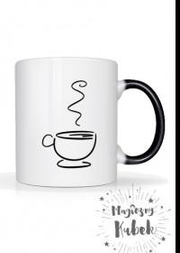 magiczny kubek z kawą