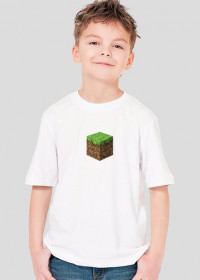 Minecraft Koszulka Dziecięca DIRT