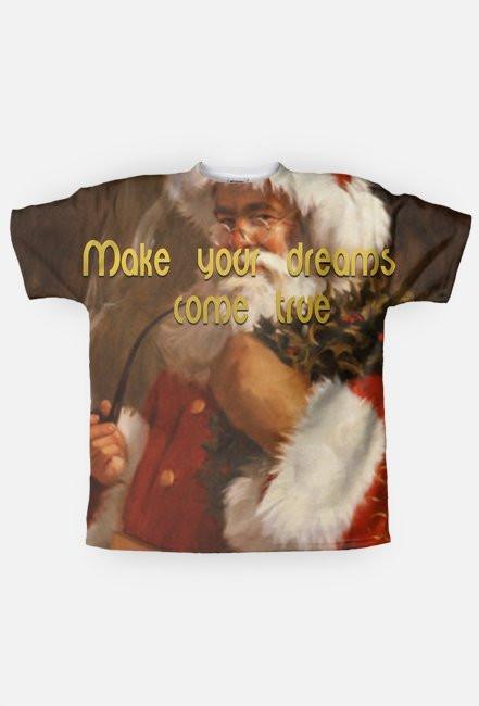 Christmas message - Santa smoking