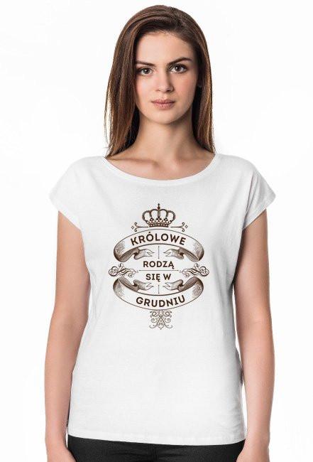 Koszulka Królowe rodzą się w Grudniu
