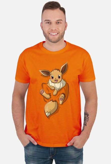 Koszulka pokemon eevee let's go - duży