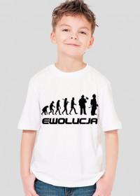 Koszulka chłopięca Ewolucja Strażaka