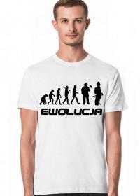 Koszulka Męska Ewolucja Strażaka