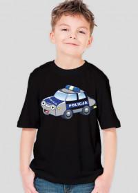 Koszulka chłopięca POLICjA