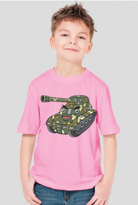 Koszulka chłopięca czołg