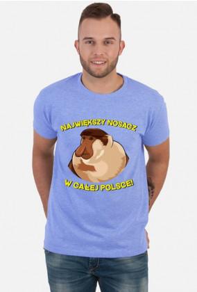 Największy Nosacz w całej Polsce - koszulka męska
