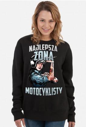 Najlepsza żona motocyklisty - damska bluza motocyklowa