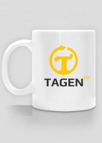 TAGEN.TV - biały kubek