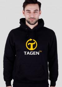 TAGEN.TV - czarna bluza