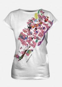 Koszulka fullprint Efekt Chrum