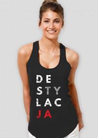 Koszulka damska parodia koszulek konstytucja - Destylacja