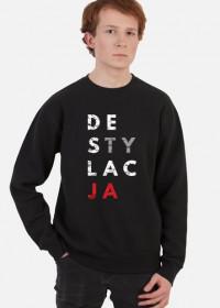 Bluza męska parodia koszulek konstytucja - Destylacja