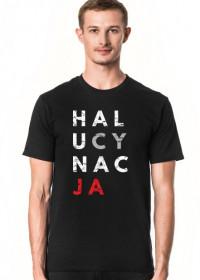Koszulka męska przeróbka koszulki konstytucja - Halucynacja