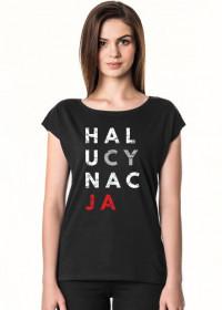Koszulka damska przeróbka koszulki konstytucja - Halucynacja