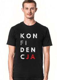 Koszulka męska przeróbka koszulki konstytucja, destylacja - Konfidencja